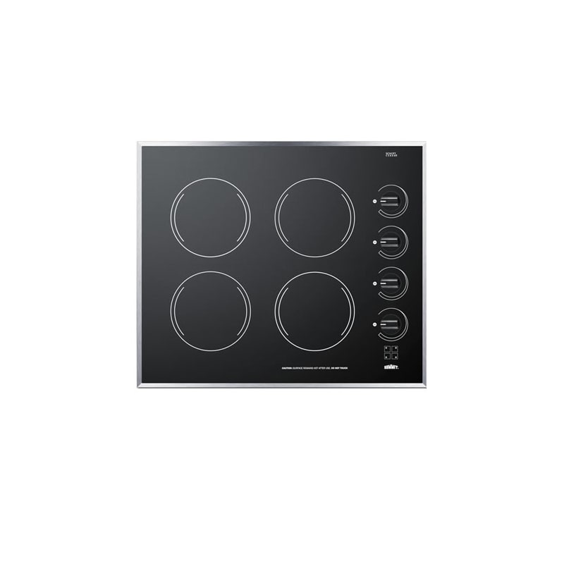 Summit CR424 24 Inch Electric Cooktop photo
