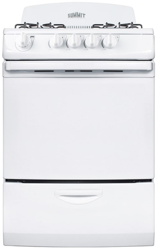 Summit RG24 24 Inch Wide 3.0 Cu. Ft. Capacity Free Standing Gas Range photo