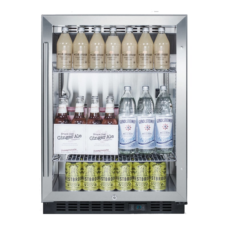 Summit SCR610BL Summit SCR610BL - 24-Inch SS Commercial Beverage Center photo