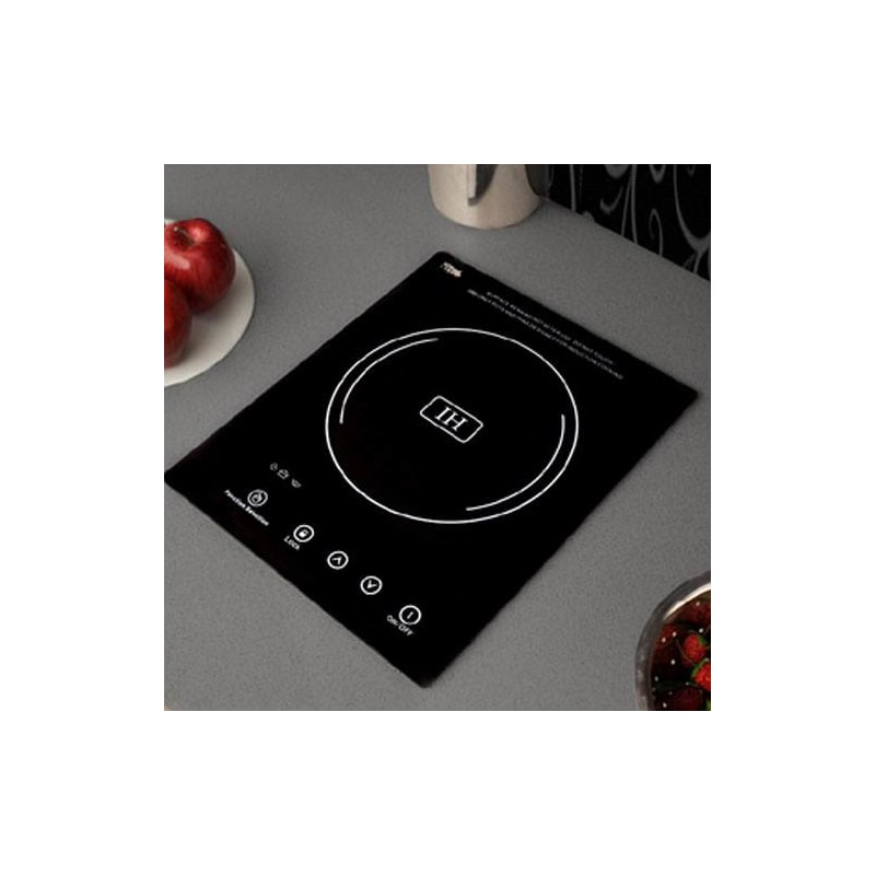 Summit SINC1110 Single Zone Built-In Induction Cooktop with 7 Piece Induction Co photo