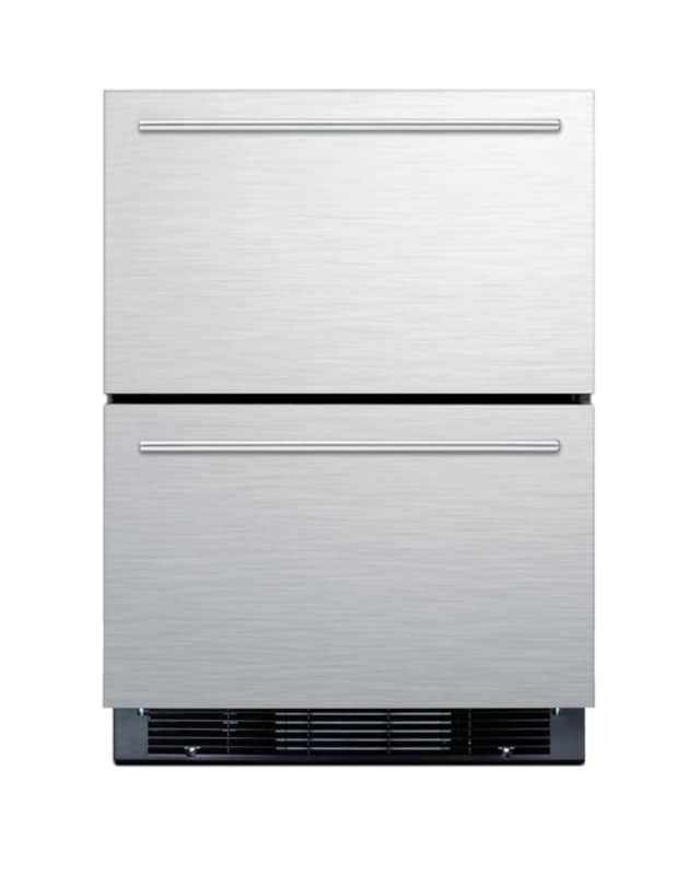 Summit SPRF2D5IM 24 Inch Wide 4.8 Cu. Ft. Two Drawer Built-In Refrigerator with photo