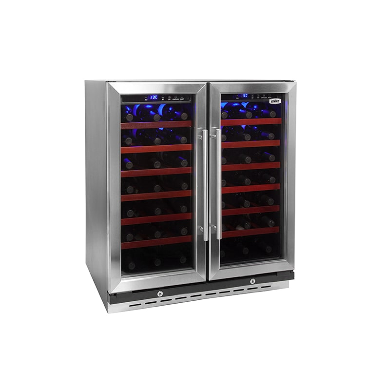 Summit SWC3066 66 Bottle 30 Built-In Dual Zone Wine Cooler photo