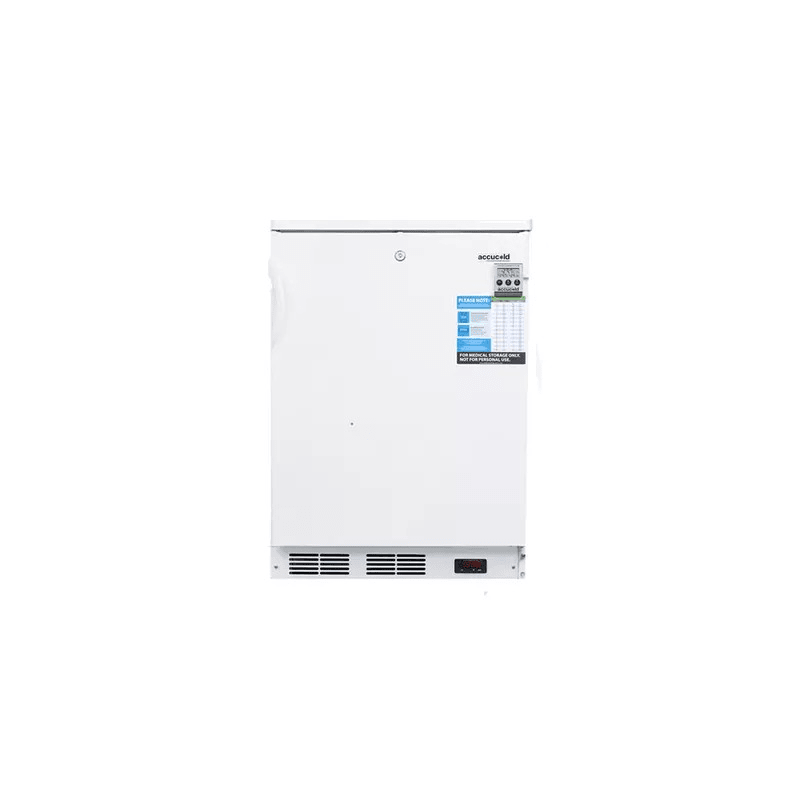 Summit VT65 4.0 C.F. Capacity Laboratory freezer features Manual Defrost, Temper photo