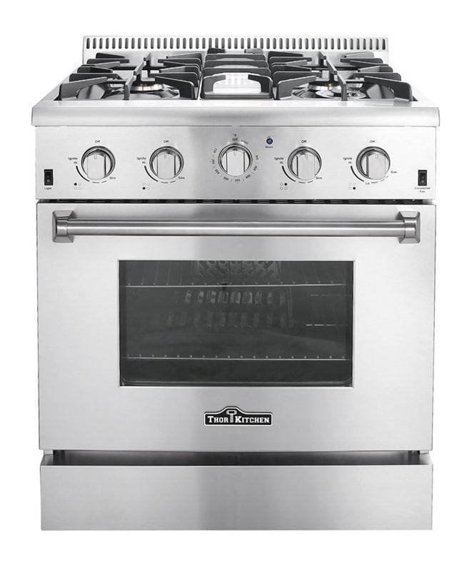 Thor Kitchen HRG3080U 30 Inch Wide 4.2 Cu. Ft. Capacity Freestanding Gas Range w photo