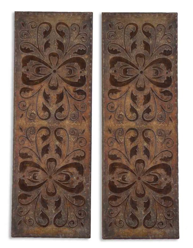 Uttermost 13643 Alexia Panels Set of 2 Wall Artnohtin