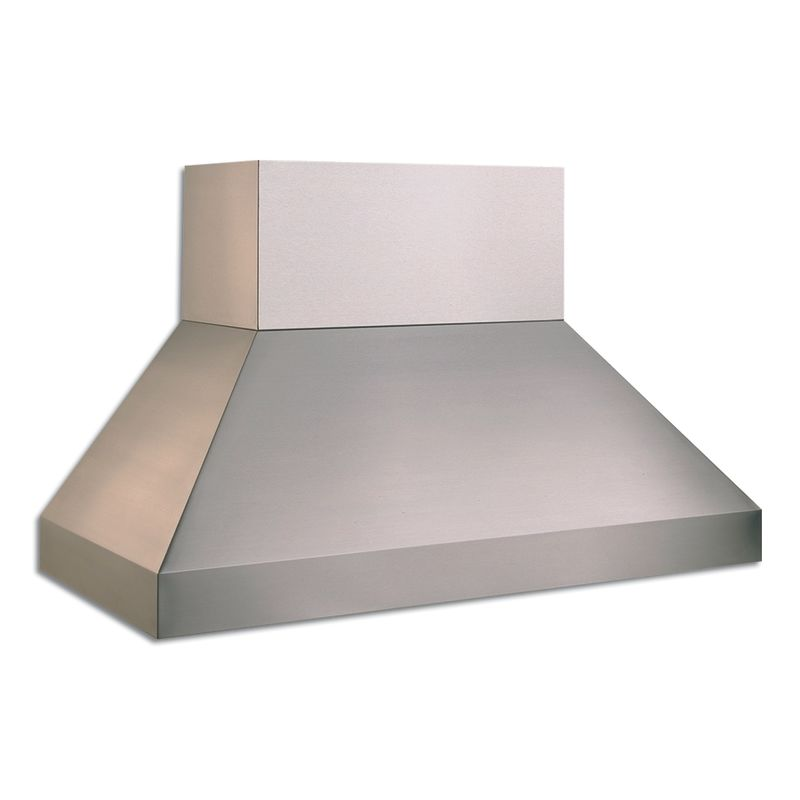 Vent-A-Hood EPXTH18-454 1200 CFM 54 Euro-Style Wall Mounted Range Hood with Two