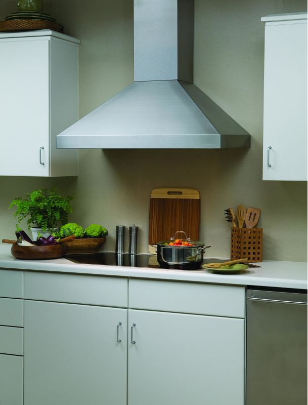 Vent-A-Hood PDH14-142 300 CFM 42 Euro-Style Wall Mounted Range Hood with a Sing