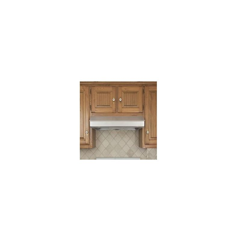 Vent-A-Hood SLH6-K30 250 CFM 30 Under Cabinet Range Hood with a Single Blower a