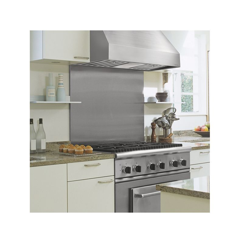Vent-A-Hood PRH18-M54 54 Wall Mounted Range Hood with Single or Dual Blower Opt