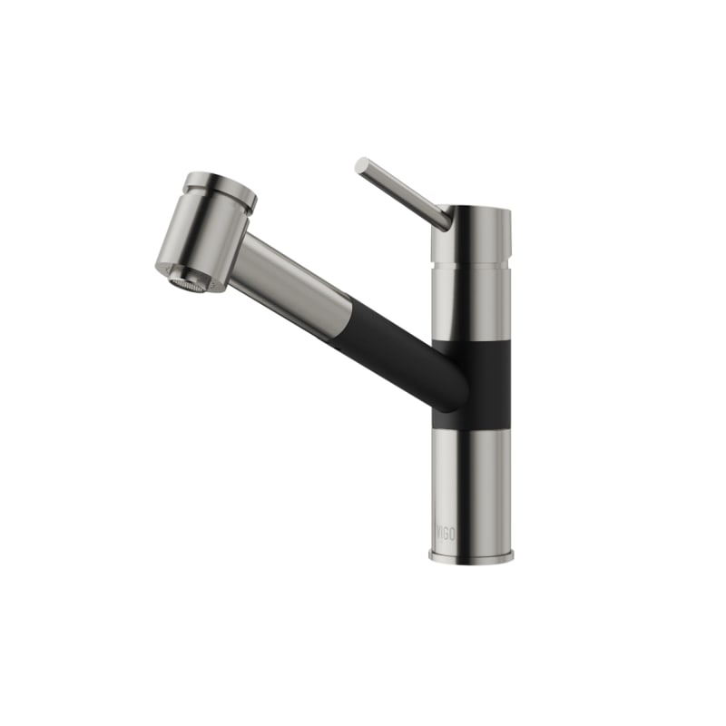 Vigo Branson Single Handle Pull Out Spray Kitchen Faucet Review