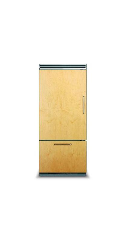 Viking FDBB5363EL 36 Inch Wide 20.4 Cu. Ft. Built-In Bottom Mount Refrigerator w photo