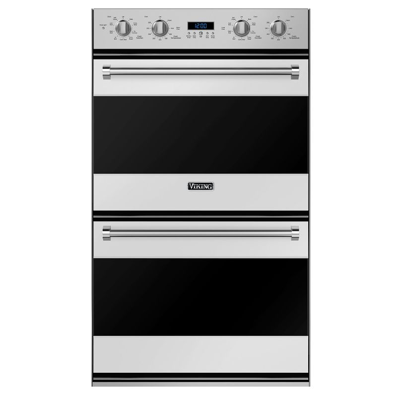 Viking RVDOE330 30 Inch Wide 7.6 Cu. Ft. Double Electric Oven with Concealed Bak photo