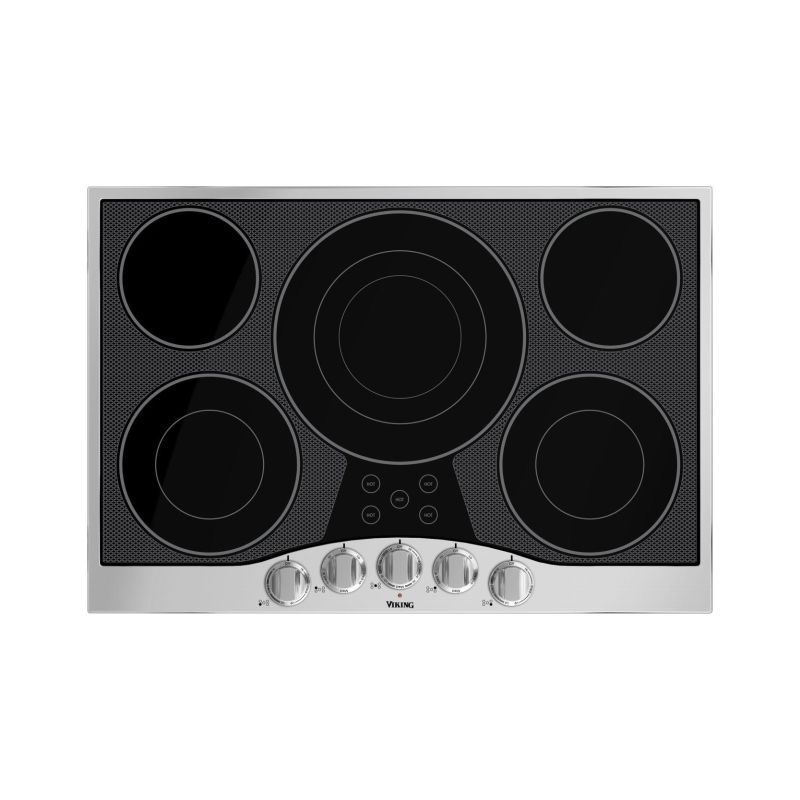 Viking RVEC3305B 30 Inch Wide Built-In Electric Cooktop with QuickCook Surface E photo