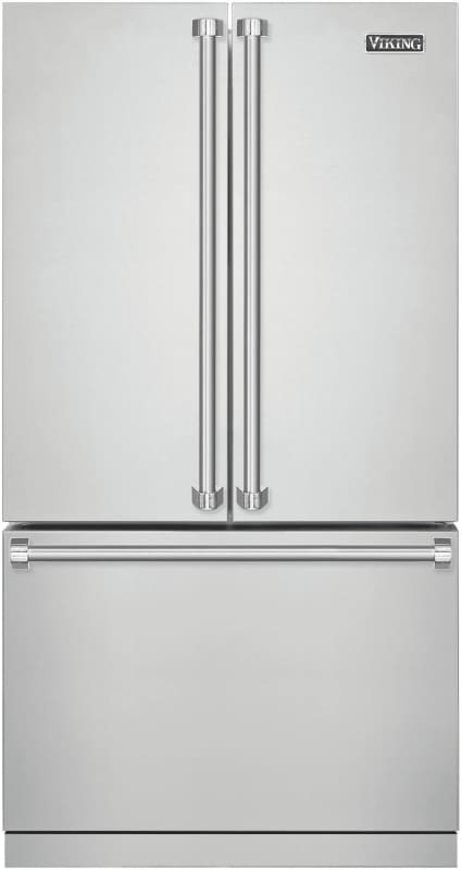 Viking RVRF3361 36 Inch Wide 22.1 Cu. Ft. French Door Refrigerator with Cold Zon photo
