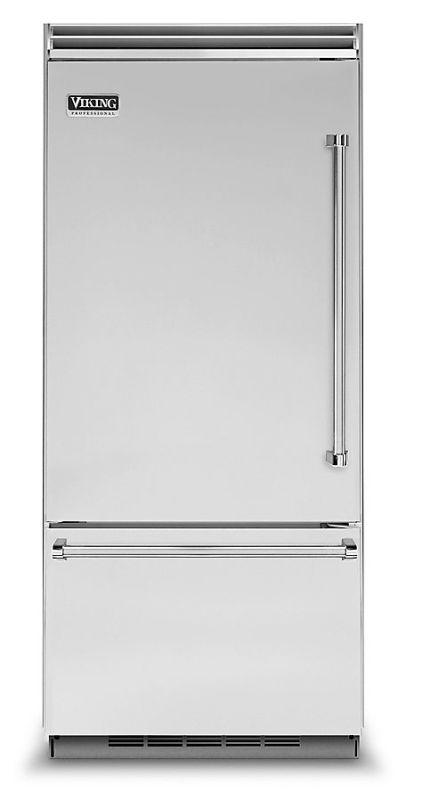 Viking VCBB5363EL 36 Inch Wide 20.4 Cu. Ft. Built-In Bottom Mount Refrigerator w photo