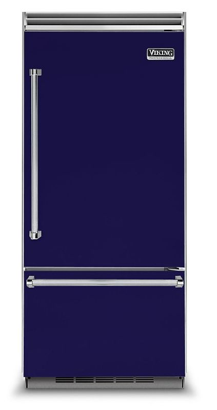 Viking VCBB5363ER 36 Inch Wide 20.4 Cu. Ft. Built-In Bottom Mount Refrigerator w photo