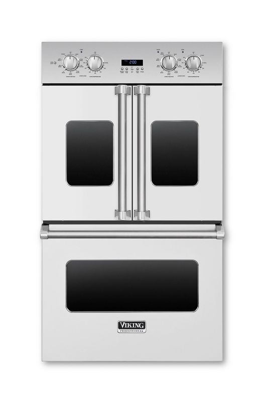 Viking VDOF730 30 Inch Wide 8.3 Cu. Ft. Double Electric Oven with CoolLit LED Li photo