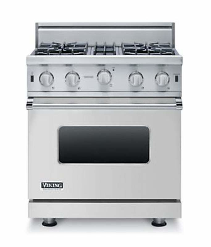 Viking VGIC53014B 30 Inch Wide 4.0 Cu. Ft. Free Standing Natural Gas Range with photo