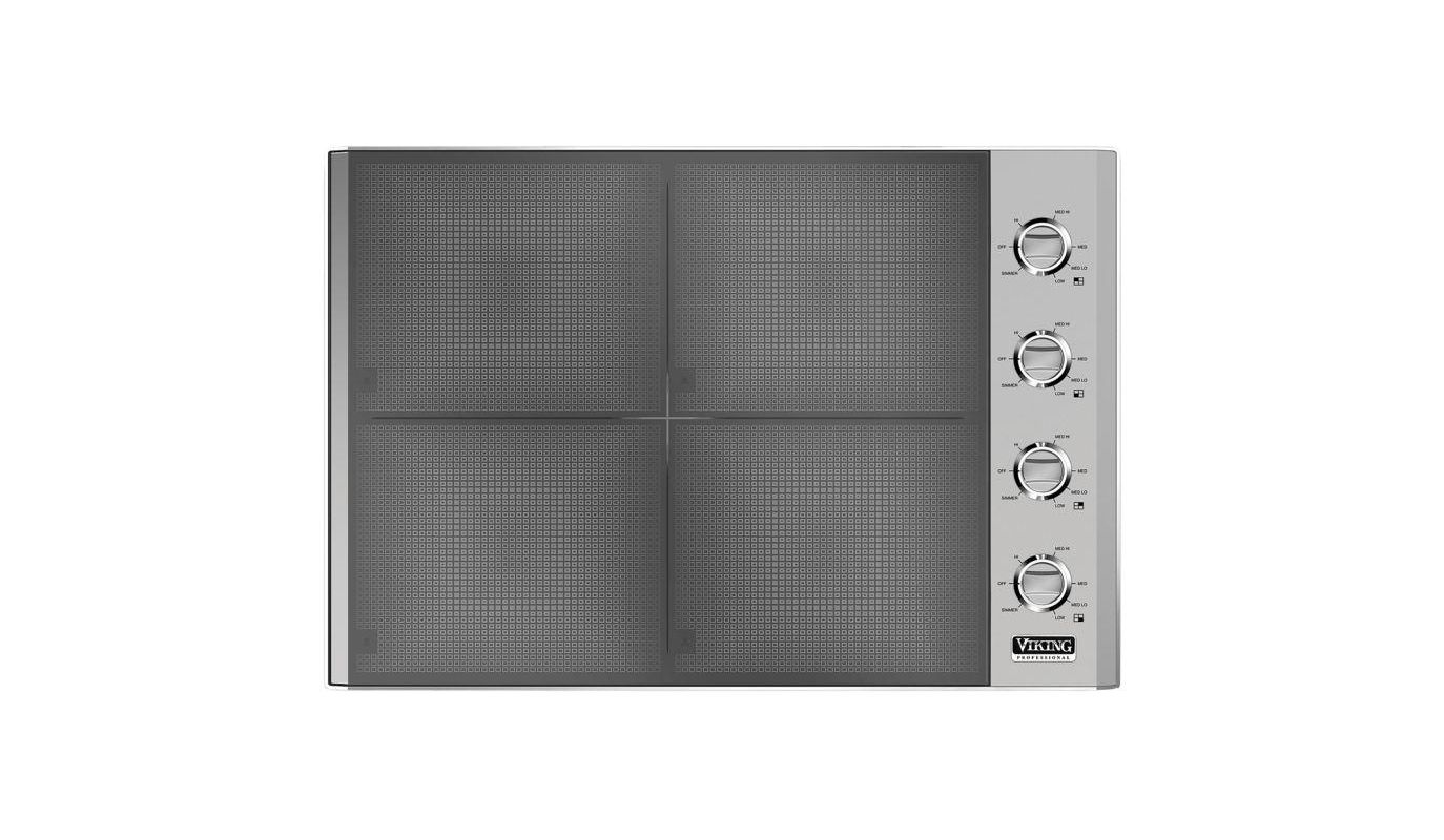 Viking VIC5304B 30 Inch Wide Built-In Induction Cooktop with MagneQuick Inductio photo