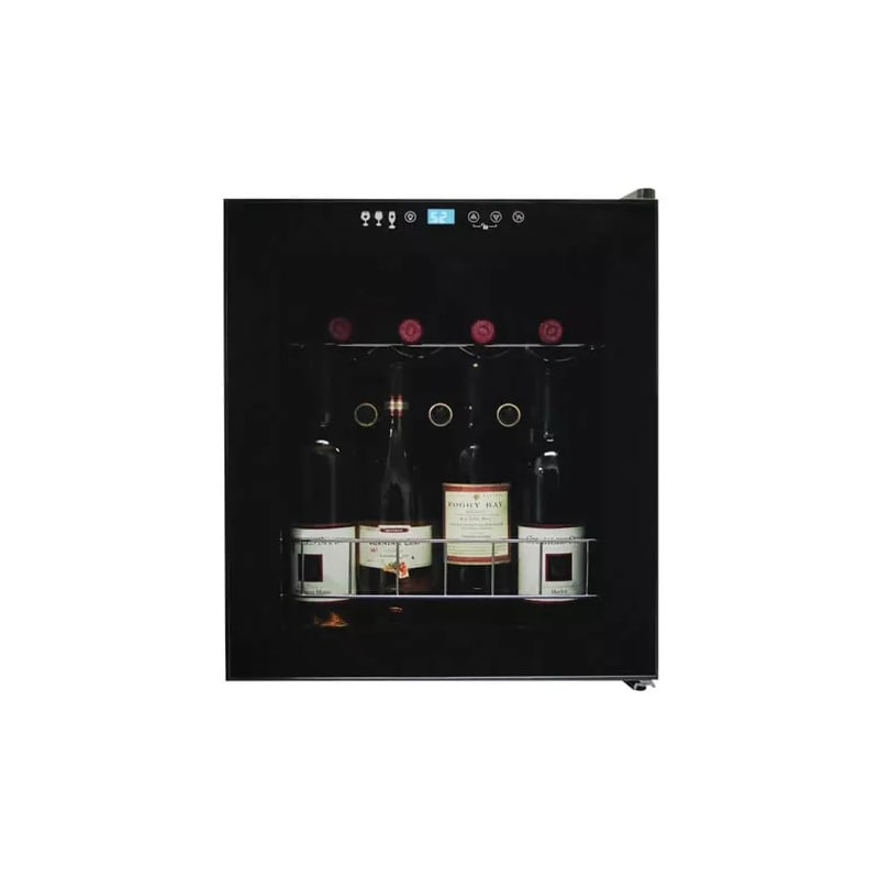 Vinotemp VT-15 TS Butler 15 Bottle Wine Cooler with Control Panel Lock, Interior photo