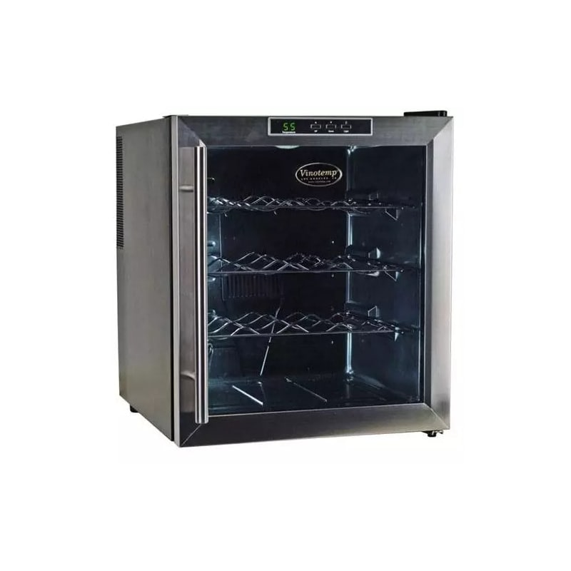 Vinotemp VT-16TEDS 16 Bottle Thermoelectric Wine Cooler with Digital Temperature photo