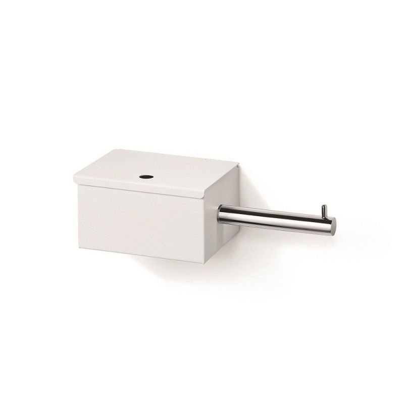 WS Bath Collections Scondi 5137 Toilet Paper Holder with Storage