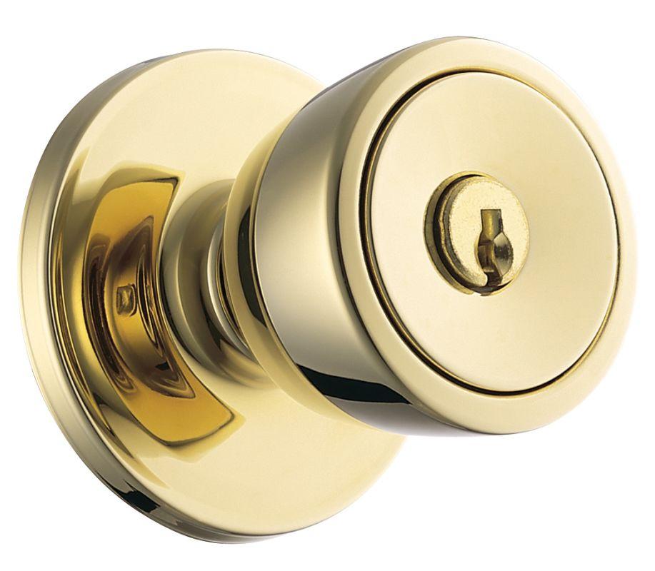 Weiser lock gac531b beverly keyed entry door knob set with for Wei er lack