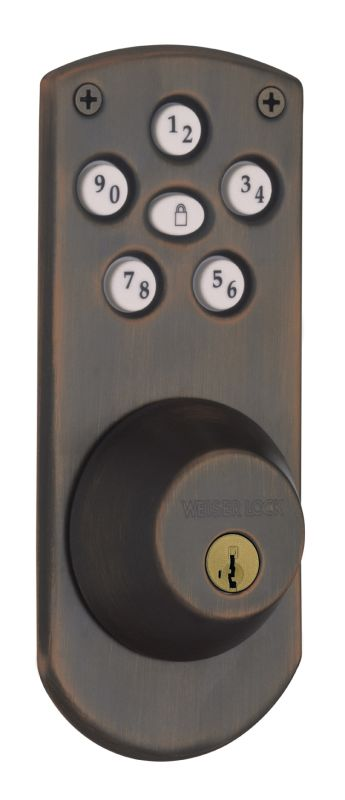 Weiser Lock Ged1460x Powerbolt Touchpad Electronic