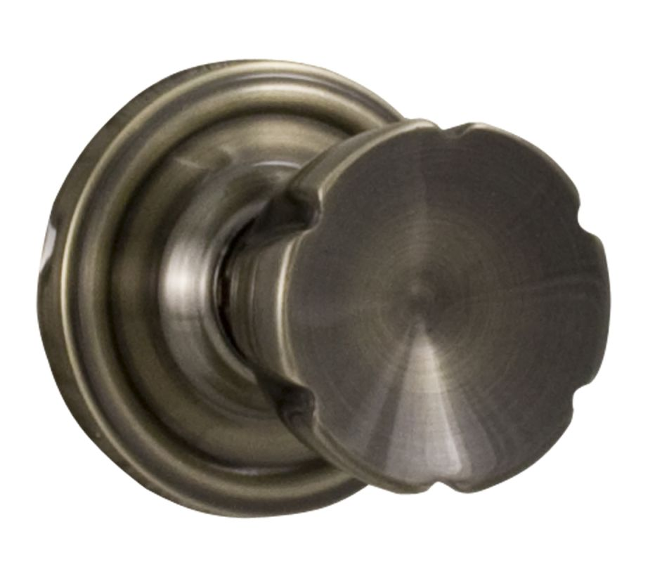 Weslock 610E Eleganti Privacy Door Knob with Round Rose from the Traditionale Co Deal
