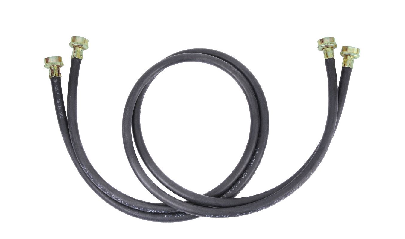 Whirlpool 8212641RP 5 Foot Long Washer Supply Hose (pack of 2) photo