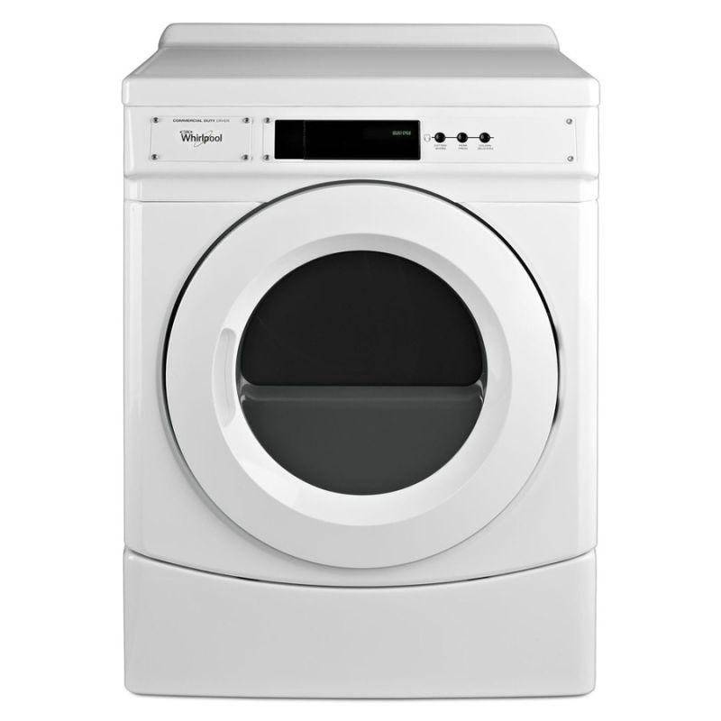 Whirlpool CED9060A 6.7 Cu. Ft. Commercial Electric Dryer with High Velocity Airf photo