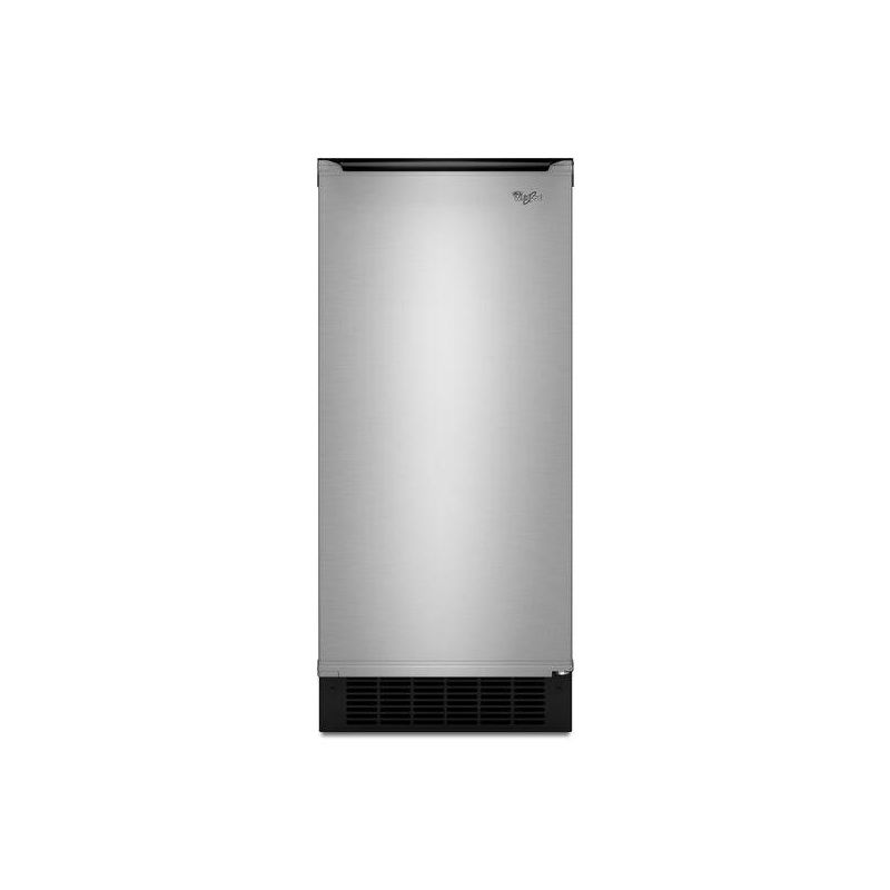 Whirlpool GI15PDXZ 15 Inch Wide Built-In Ice Maker with Square Ice and 50 Lbs. p photo