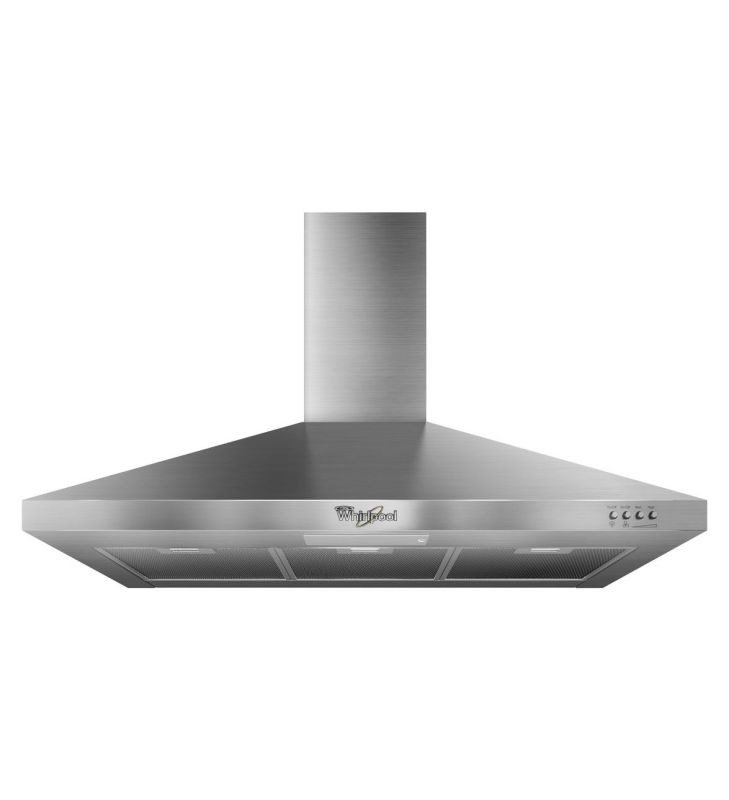 Whirlpool GXW7336DXS 300 CFM 36 Inch Wide Wall Mount Canopy Range Hood with Fluo photo