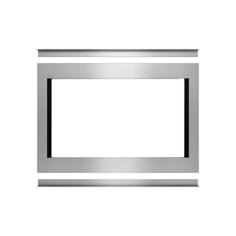 Whirlpool MKC4157ES 27 Inch Wide Flush Mount Trim Kit for Convection Microwave photo
