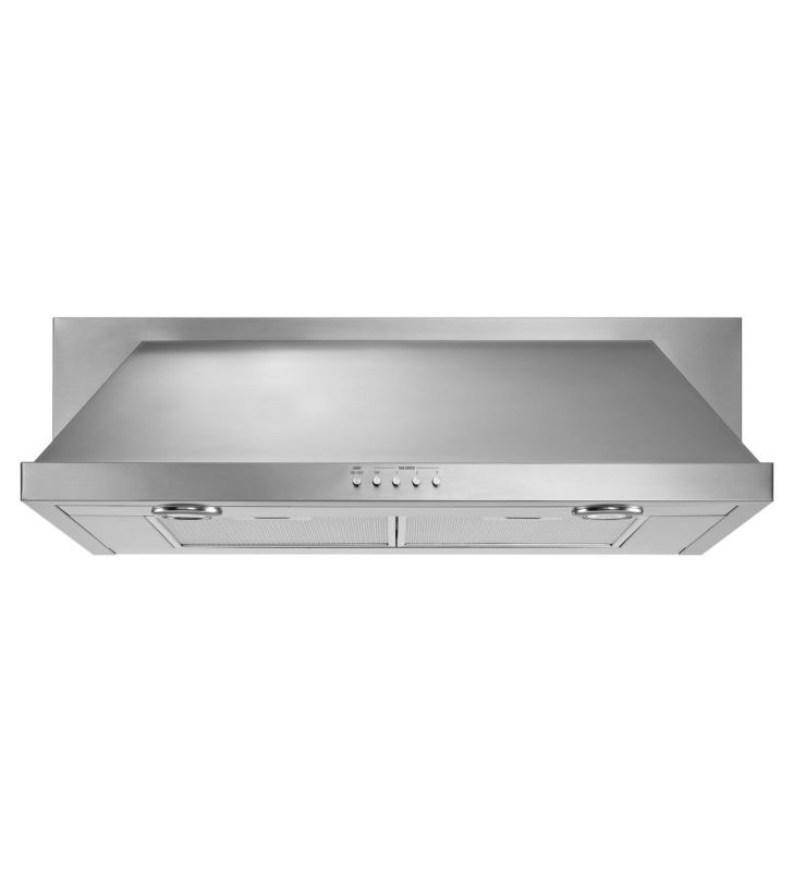 Whirlpool UXT5536AAS 400 CFM 36 Inch Wide Under-Cabinet Range Hood with Recircul photo