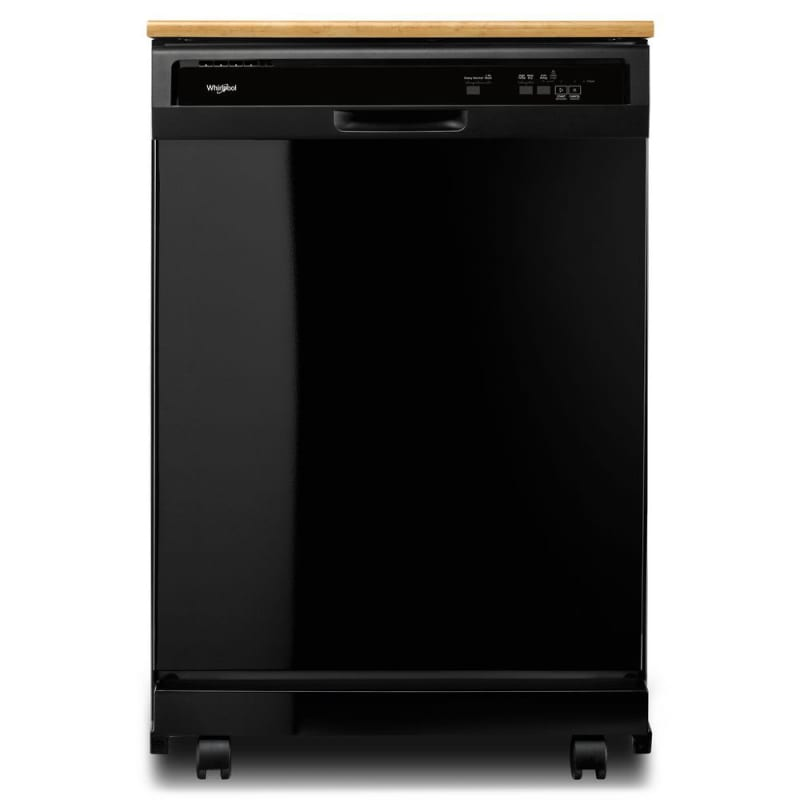 Whirlpool WDP370PAH 24 Inch Wide 12 Place Setting Portable Full Console Dishwash photo