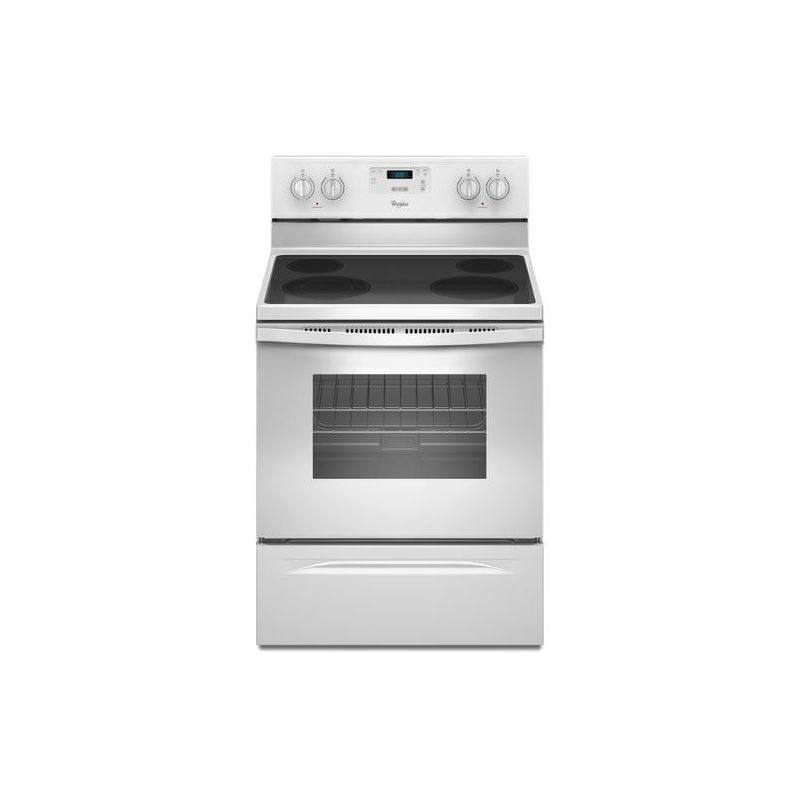 Whirlpool WFE320M0E 30 Inch Wide 4.8 Cu. Ft. Free Standing Electric Range with E photo