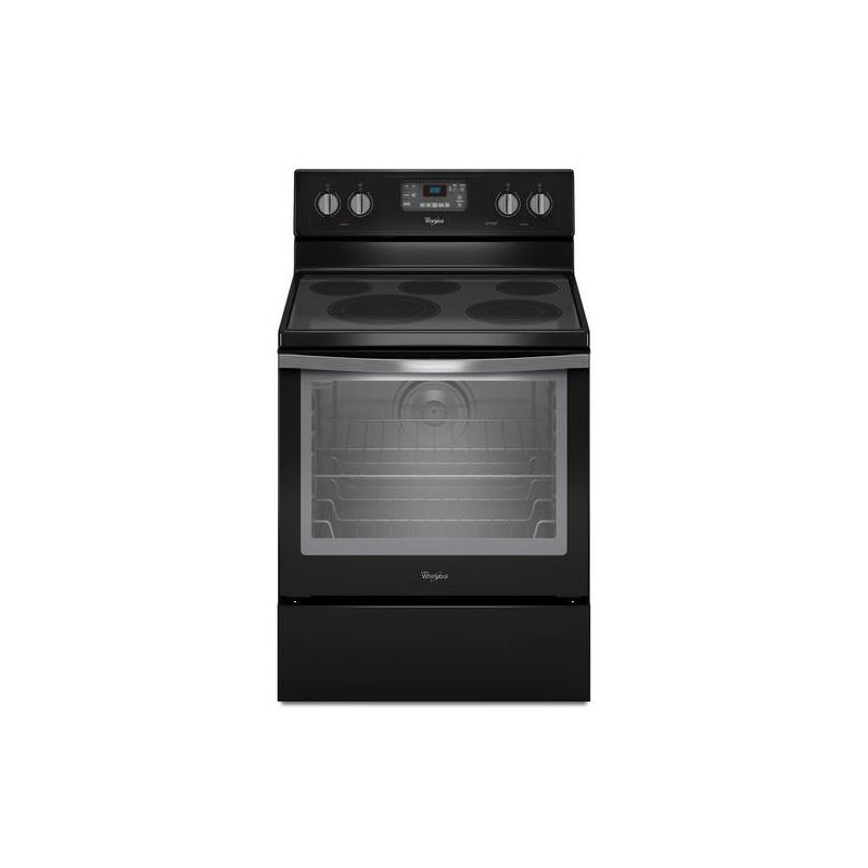 Whirlpool WFE540H0E 30 Inch Wide 6.4 Cu. Ft. Free Standing Electric Range with A photo