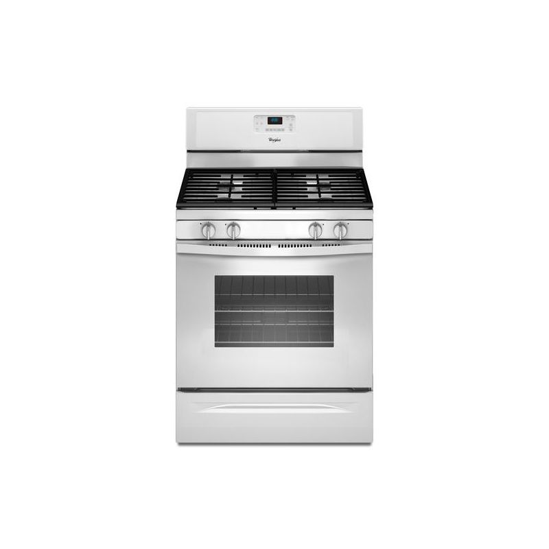 Whirlpool WFG515S0E 30 Inch Wide 5 Cu. Ft. Free Standing Gas Range with Counter photo
