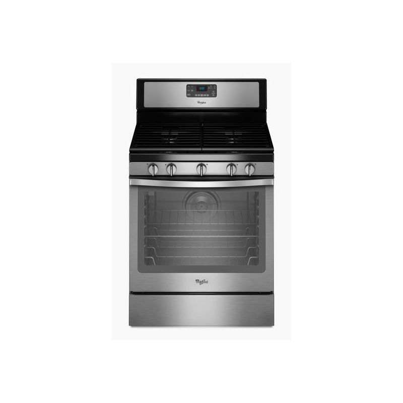 Whirlpool WFG540H0E 30 Inch Wide 5.8 Cu. Ft. Free Standing Gas Range with Counte photo