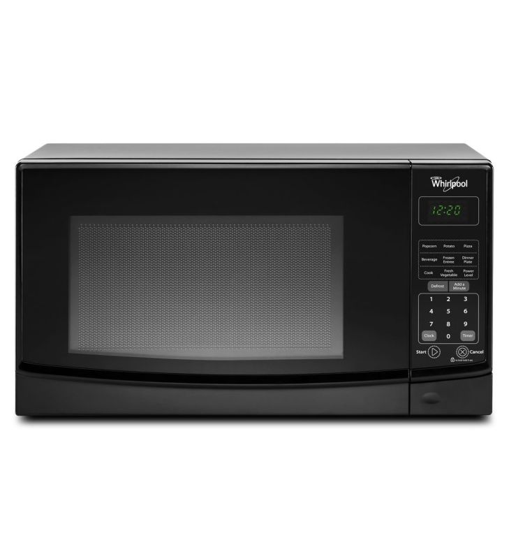 Whirlpool WMC10007A 0.7 Cu. Ft. Countertop Microwave with Electronic Touch Contr photo