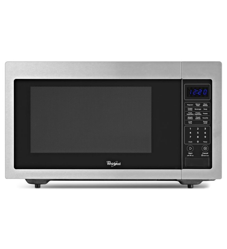 Whirlpool WMC30516A 1.6 Cu. Ft. Countertop Microwave with Sensor Cooking photo