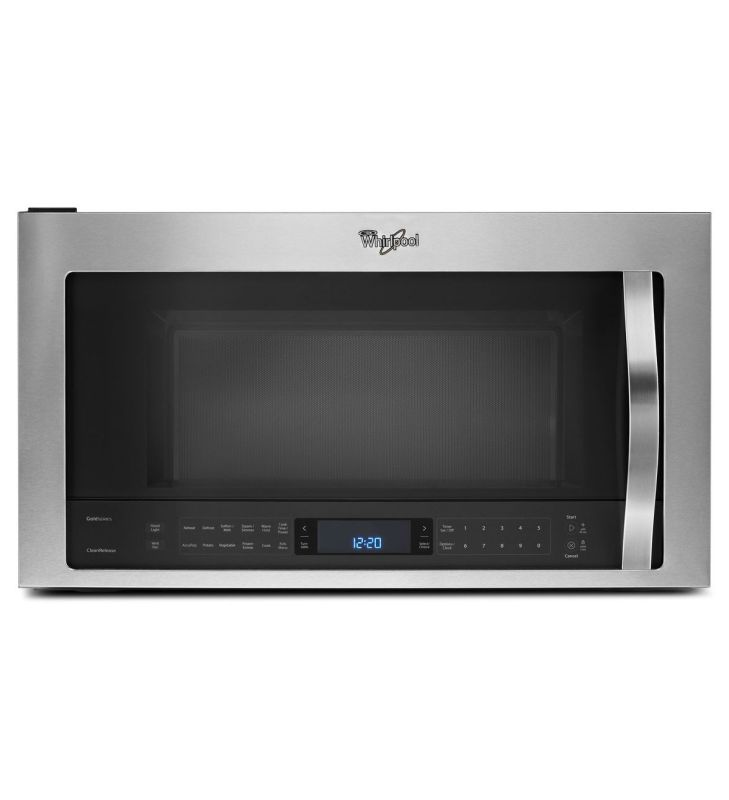Whirlpool WMH73521C 2.1 Cu. Ft. Over-the-Range Microwave with AccuPop™ Cycle photo