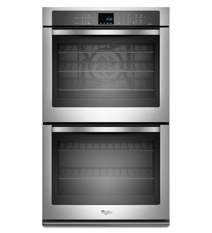 Whirlpool WOD93EC7A 27 Inch Wide 8.6 Cu. Ft. Double Wall Oven with TimeSavor™ Ul photo