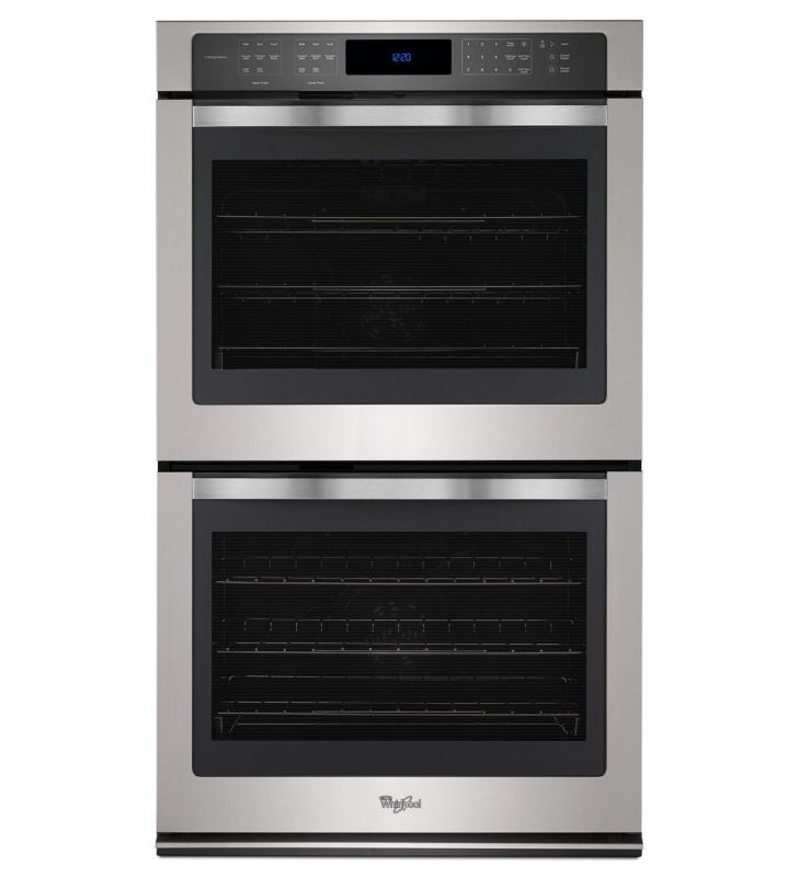 Whirlpool WOD97ES0E 30 Inch Wide 10.0 Cu. Ft. Double Electric Oven with Digital photo