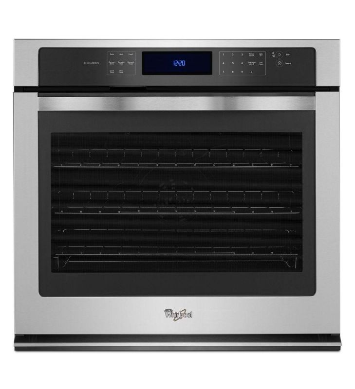 Whirlpool WOS97ES0E 30 Inch Wide 5.0 Cu. Ft. Single Electric Oven with Digital M photo