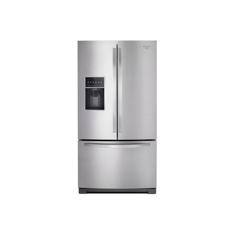 Whirlpool WRF757SDE 36 Inch Wide 26.8 Cu. Ft. French Door Refrigerator with Stor photo