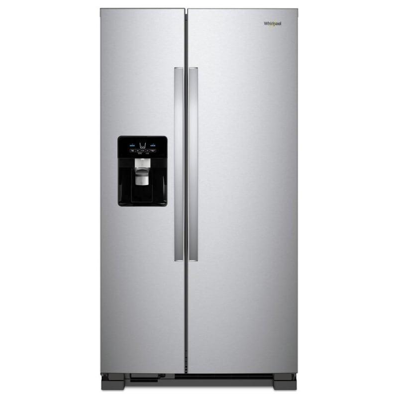 Whirlpool WRS321SDH 33 Inch Wide 21.4 Cu. Ft. Side by Side Refrigerator -  WRS321SDHZ