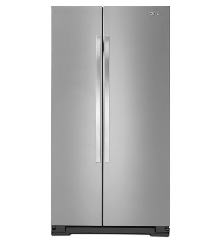 Whirlpool WRS325FNA 36 Inch Wide 24.9 Cu. Ft. Side By Side Refrigerator with Spi photo