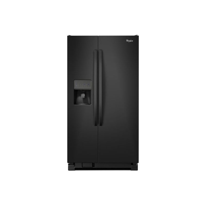 Whirlpool WRS331FDD 33 Inch Wide 21.2 Cu. Ft. Side By Side Refrigerator with Adj photo